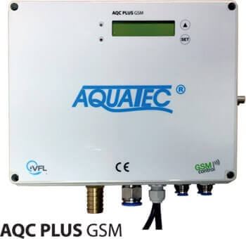 Aquatec VFL wastewater treatment plants  AT PLUS control unit with GSM module