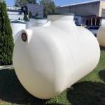 Horizontálna podzemná plastová nádrž TH 4,2