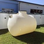 podzemná plastová nádrž ležatá