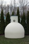 podzemná plastová nádrž vyrobená z prvotriedneho polyetylénu technológiou...