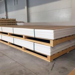 PP (polypropylén) plastové dosky  3x1500x4000 mm - PP-C natural  hmotnosť...