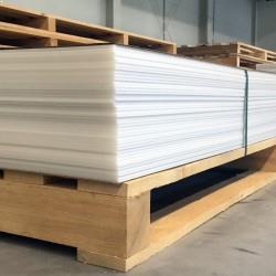 PP (polypropylén) plastové dosky  8x1500x4000 mm - PP-C natural  hmotnosť...