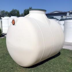 horizontálna podzemná plastová nádrž vyrobená z prvotriedneho polyetylénu technológiou...