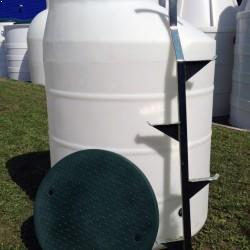plastová vodomerná šachta vyrobená z prvotriedneho polyetylénu technológiou rotačného...