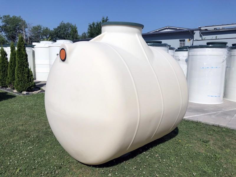 Horizontálna podzemná plastová nádrž TH 5,2