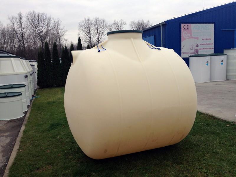 podzemná plastová nádrž TH 6,2