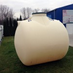 Rotomoulded plastic tanks Aquatec VFL