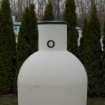 Rotomoulded plastic tanks Aquatec VFL